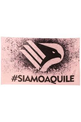 BANDIERA SIAMO AQUILE 90x150